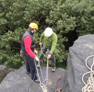 Rock Climbing and Abseiling